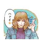 昔の少女漫画っぽいスタンプ(冬服仕様)(個別スタンプ:05)