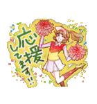 昔の少女漫画っぽいスタンプ(冬服仕様)(個別スタンプ:24)