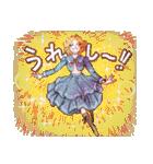 昔の少女漫画っぽいスタンプ(冬服仕様)(個別スタンプ:25)