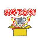 箱にゃんこ(個別スタンプ:33)