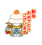 箱にゃんこ(個別スタンプ:37)