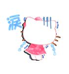 ハローキティ 水彩画タッチ(個別スタンプ:31)
