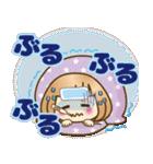おかっぱ女子【冬でか文字】(個別スタンプ:18)