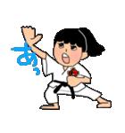 少林寺拳法 (頑張れ娘ver.)(個別スタンプ:01)