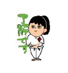 少林寺拳法 (頑張れ娘ver.)(個別スタンプ:03)
