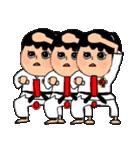 少林寺拳法 (頑張れ娘ver.)(個別スタンプ:09)