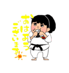 少林寺拳法 (頑張れ娘ver.)(個別スタンプ:21)