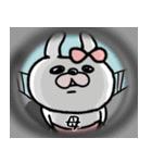 【ママ専用】うさぎのモカちゃん名前stamp(個別スタンプ:32)