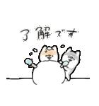 ほんわかしばいぬ<冬>(個別スタンプ:08)