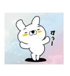 正直すぎるウサギ(個別スタンプ:18)