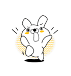 正直すぎるウサギ(個別スタンプ:21)