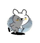 正直すぎるウサギ(個別スタンプ:22)