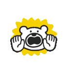 けたくま(でか顔)(個別スタンプ:02)