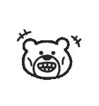 けたくま(でか顔)(個別スタンプ:22)