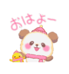 Babyぱんださん「冬」(個別スタンプ:09)