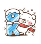 冬でも、いぬ田さん。(個別スタンプ:02)