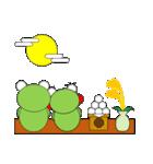 かえるさんの家族(秋冬編)(個別スタンプ:12)