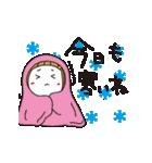 ▶︎動く!はな子✿冬だよ。(個別スタンプ:12)
