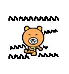 動くクマさんの全力メッセージ(個別スタンプ:12)