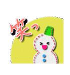 アトリエHJの冬&クリスマススタンプ(個別スタンプ:34)
