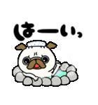 ♡年末年始のパグさん♡(個別スタンプ:03)