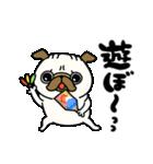 ♡年末年始のパグさん♡(個別スタンプ:23)