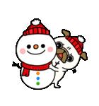 ♡年末年始のパグさん♡(個別スタンプ:29)