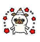 ♡年末年始のパグさん♡(個別スタンプ:30)