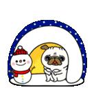 ♡年末年始のパグさん♡(個別スタンプ:31)