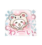 ぱんにゃの動く♥冬の日常スタンプ3(個別スタンプ:01)