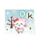 ぱんにゃの動く♥冬の日常スタンプ3(個別スタンプ:05)