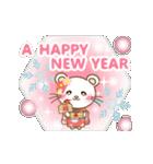 ぱんにゃの動く♥冬の日常スタンプ3(個別スタンプ:21)