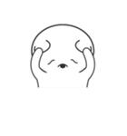 たれめっくま(個別スタンプ:36)
