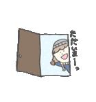 めがねの彼とショートな彼女 ふゆ(個別スタンプ:02)