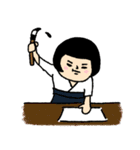 おかっぱブルマちゃん 【冬②】(個別スタンプ:27)