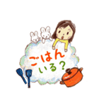 はっぴーすたんぷ3〜主婦.嫁.母(ママ)〜(個別スタンプ:14)