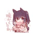 うさみみ少女(冬)(個別スタンプ:14)