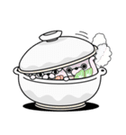うさぎ&くま100% 冬のパステル(個別スタンプ:12)
