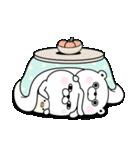 うさぎ&くま100% 冬のパステル(個別スタンプ:13)
