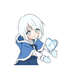 雪ん子ユキちゃん(個別スタンプ:02)
