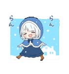 雪ん子ユキちゃん(個別スタンプ:21)