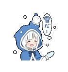 雪ん子ユキちゃん(個別スタンプ:27)