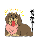 兄弟犬 公式スタンプ(個別スタンプ:14)