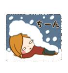 ほっこりかわいい冬スタンプ(個別スタンプ:19)