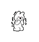 まりちゅう×すこぶる動くウサギ(個別スタンプ:27)