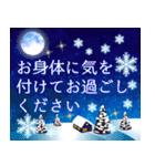 大人のクリスマス 冬の日常とお正月(個別スタンプ:08)