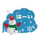 大人のクリスマス 冬の日常とお正月(個別スタンプ:16)