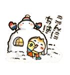 【訂正版】柴犬「まるちゃん」年末年始(個別スタンプ:03)