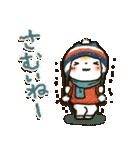 【訂正版】柴犬「まるちゃん」年末年始(個別スタンプ:04)