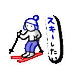 マーカーで描いてみた★毎日のあいさつ[冬](個別スタンプ:22)